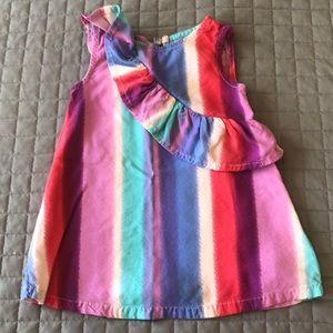 🌈 Oshkosh B'Gosh Rainbow Dress